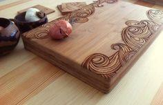 Planches à découper, Planches à Découper Personnalisé Wave Pattern est une création orginale de woodbemine sur DaWanda
