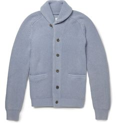 Hardy Amies shawl collar cardigan.