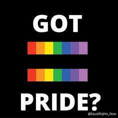 June is Pride Month! Got Pride? #LGBTPride #lgbtqia #LoveWins