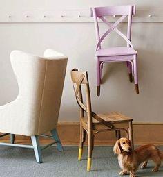 家具は明るい色の塗料に浸し:美少女あるいは単なる奇妙な? |炒め