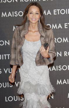 Isabel Preysler - Maison Louis Vuitton Roma Etoile Opening Party