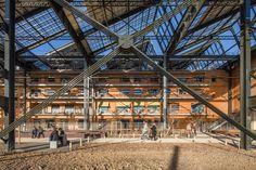 Jourda Architectes, Réhabilitation de la halle Pajol, Paris | 11H45