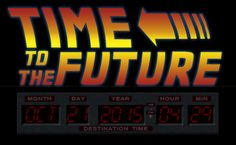Now you can see exactly when we will reach the future the movies have promised us with TimeToTheFuture.com! Check it out!    www.timetothefuture.com