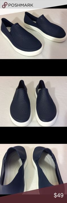 9b0042ed053 Crocs men size 10 loafer slip on Like new upper. Worn once. CROCS Shoes