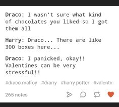 not harry ew. << noooooo drarry is bae. My father will hear about this!<Dramione makes no sense. Gay Harry Potter, Harry Potter Draco Malfoy, Draco And Hermione, Harry Potter Ships, Harry Potter Universal, Fandoms, Film Serie, Dramione Headcanons, Drarry Tumblr