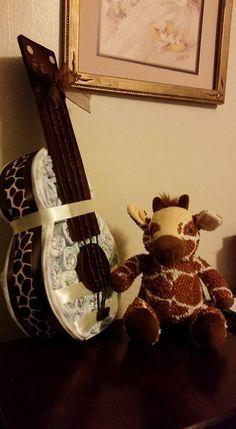 Pamper Cake, Giraffe, Felt Giraffe, Giraffes