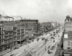 Canal Street, New Orleans, 1903