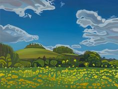 Landscapes by Anna Dillon