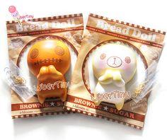 iBloom Bread Doll Mascot squishy (Licensed)
