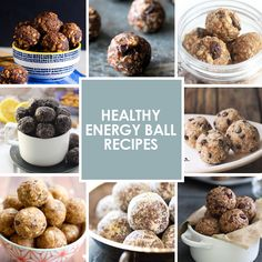 Healthy Energy Ball Recipes