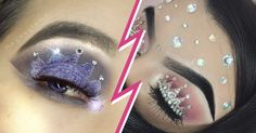 graceful Glamour Make Up with Crown Eyeshadow New Trends Crown Eyeshadow, Eyeshadow Palette, Makeup Art, Eye Makeup, Pretty Designs, Eye Art, Beauty Trends, Cool Eyes, New Trends