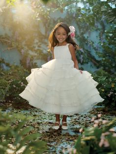 Disney's Fairy Tale Weddings by Alfred Angelo Tiana Blossom, Style 716...sooo precious. would love even more if it was in a different color besides white!
