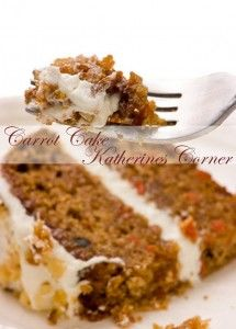 Carrot Cake with Cream Cheese Frosting I had a special request to re-post this cake recipe. Itis a favorite at our house, an easy to follow and extra yummy carrot cake with cream cheese frosting! What You need Cake: 2 cups flour 2 cups sugar 2 teaspoons baking powder 2 teaspoons baking soda 2