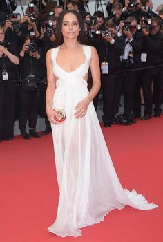 Mode Världen: Red Carpet Fashion Cannes Film Festival.......Zoe Kravitz