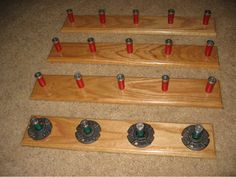 Shotgun Shell Coat/Hat Rack