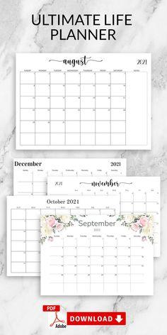 Schedule Calendar, Diy Calendar, Calendar Pages, 2021 Calendar, Blank Monthly Calendar Template, Monthly Planner Printable, Calendar Templates, Calendar Printable, Gear Template