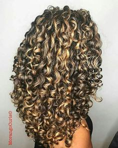 20 Long Curly Hair Color Ideas: #5. Curly Hair; #longhair; #curlyhair