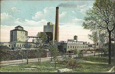 1909 Muskegon Michigan Central Paper SD Warren Sappi Mill Antique Vtg Postcard | eBay