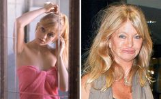 Celebs You Won't Recognize Today! Goldie Hawn, Fascinator, In The Heights, The Darkest, Strapless Dress, Take That, Celebs, Image, Dresses