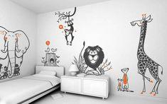 Kit Adesivos Safari - 2F1FDC | ADcorista Arte & Decoração | Elo7