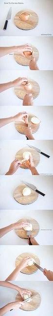 how to cut an onion by ohdeardrea