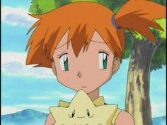 the tomboyish mermaid Sexy Pokemon, Cute Pokemon, Pokemon Fan, Pokemon Ash And Misty, Pokemon Rouge, Ghost Type, Types Of Fairies, Pokemon People, Pokemon Images