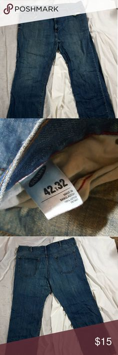 Old navy straight Leg men jeans sz 42/32 Old navy straight Leg men jeans sz 42/32 Old Navy Jeans Straight
