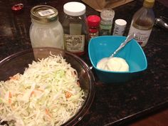 Nothing says BBQ like cole slaw. I love cole…
