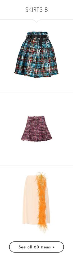 """""""SKIRTS 8"""" by donnatellmeno ❤ liked on Polyvore featuring skirts, tartan plaid skirt, sequin skirt, embroidered skirt, plaid pleated skirts, plaid skirt, bottoms, chanel, saias and purple skirt"""