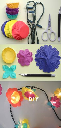 Easy Paper Crafts For Teens Easy Paper Crafts For Teens 33 Awesome Diy String Light Ideas Decor Crafts, Diy And Crafts, Paper Crafts, Home Decor, Diy For Teens, Crafts For Teens, Diy Projects For Bedroom, Diy Bedroom, Girls Bedroom