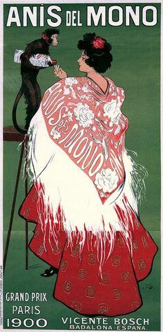 Ramon Casas, Anis del Mono, 1900