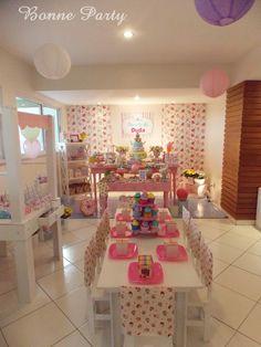 Bonne Party Festas Infantis - Decoração Provençal | Doceria da Duda