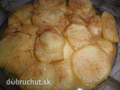 Fotorecept: Pečené škoricové jabĺčka