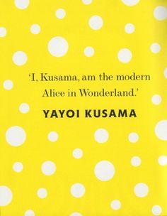 yayoi kusama alice in wonderland - Google Search