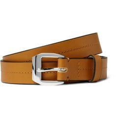 "Marni ""Stitched Leather Belt"" @215"
