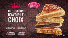 Savourez la meilleure des #galettes dans votre boutique #BriocheDoree !