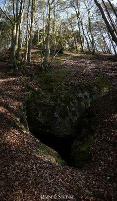 Die Kuppenlochhöhle bei Spiess - Fränkische Schweiz