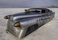 ❦ Jeff Brock's Bombshell Bonneville Buick. Straight Eight. 1952. 162MPH. http://brockartstudio.com/index.php