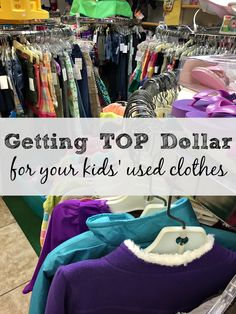 Resale shops for kids are great places to save money and find name brand clothing! #stylebymethod #clevergirls #ad