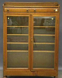 Early Century Carved Oak Two-door Book Cabinet Old Furniture For Sale, Painting Old Furniture, Furniture Direct, Refurbished Furniture, Affordable Furniture, Furniture Sets Design, Trunk Furniture, Shaker Furniture, Furniture Removal