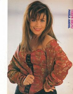 Use to love me some Paula Abdul! Straight up now tell me.....