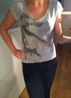 Kaufe meinen Artikel bei #Kleiderkreisel http://www.kleiderkreisel.de/damenmode/kurzarmlig/81588994-only-t-shirt-grau-gr-s