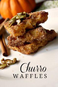 Churro Waffles recipe #4morewaffles #shop #cbias