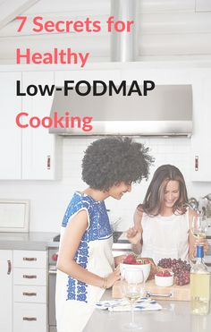 7 Secrets for Healthy Low-FODMAP Cooking (even if you hate to cook) (lose weight) Fodmap Diet Plan, Low Fodmap, Fodmap Recipes, Diet Recipes, Fodmap Foods, Recipies, Tapas Menu, Ibs Diet, Cocktails