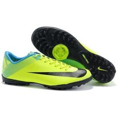 bbcff5db2326 Cheap 2011 Nike Mercurial Superfly III FG Indoor Soccer Shoes In Green Blue  Black Cheap Soccer