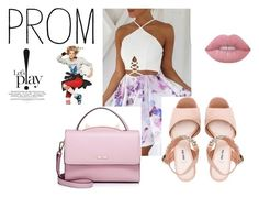 """3"" by jassemin ❤ liked on Polyvore featuring Miu Miu, WithChic and Lime Crime"