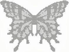 Gaia Online is an online hangout, incorporating social networking, forums, gaming and a virtual world. Diy Crochet Patterns, Beading Patterns, Crochet Stitches, Fillet Crochet, Create Picture, Double Crochet, Doilies, Butterfly, Knitting