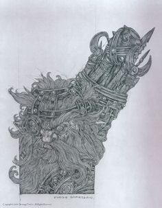 Disciples II - Страж горна (стрелок Горных кланов) by Patrick Lambert