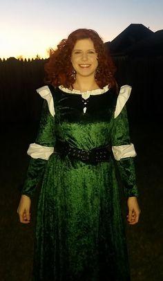 Merida Costume - Amanda Renea Merida Costume, Amanda, Victorian, Costumes, Projects, Dresses, Fashion, Log Projects, Merida Outfit