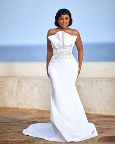 African party dresses - African Party Dresses 2019 Trendy Styles You Should Rock for Weekend Parties – African party dresses African Party Dresses, African Wedding Attire, Latest African Fashion Dresses, African Dress, Mermaid Beach Wedding Dresses, Mermaid Dresses, Bridal Dresses, Bridesmaid Dresses, Prom Dresses